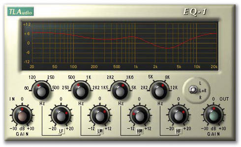 Steinberg TLA EQ1 VST Plug-in, ESD Lizenz für Windows