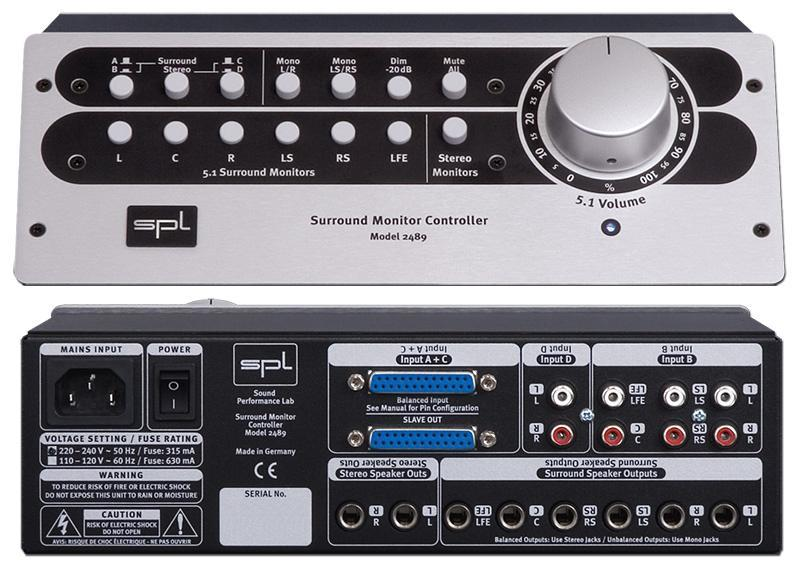 SPL SMC 5.1 2489 Surround Monitor Controller