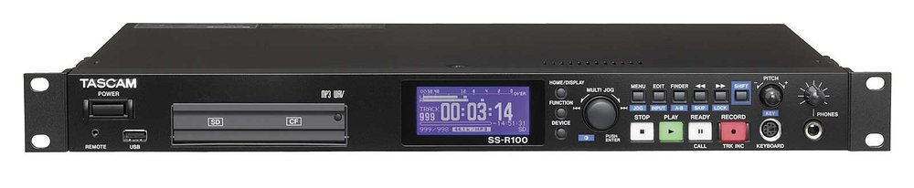TASCAM SS-R100  Solid-State Stereo Recorder