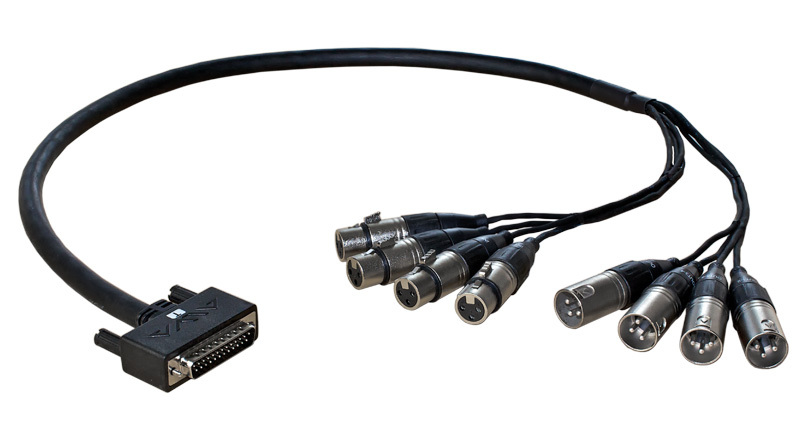 ALVA Digital D-Sub25 Breakout-Kabel, 3 Meter