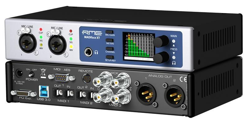 RME Madiface XT MADI USB 3.0 & PCIe-EX Interface