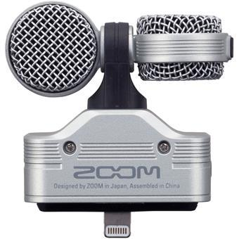 ZOOM iQ7  MS-Stereo Mikrofon mit Lightning Connector