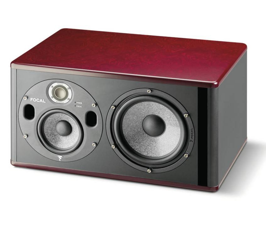 Focal Trio6 BE Analog Studio Monitor, Red Burr Ash