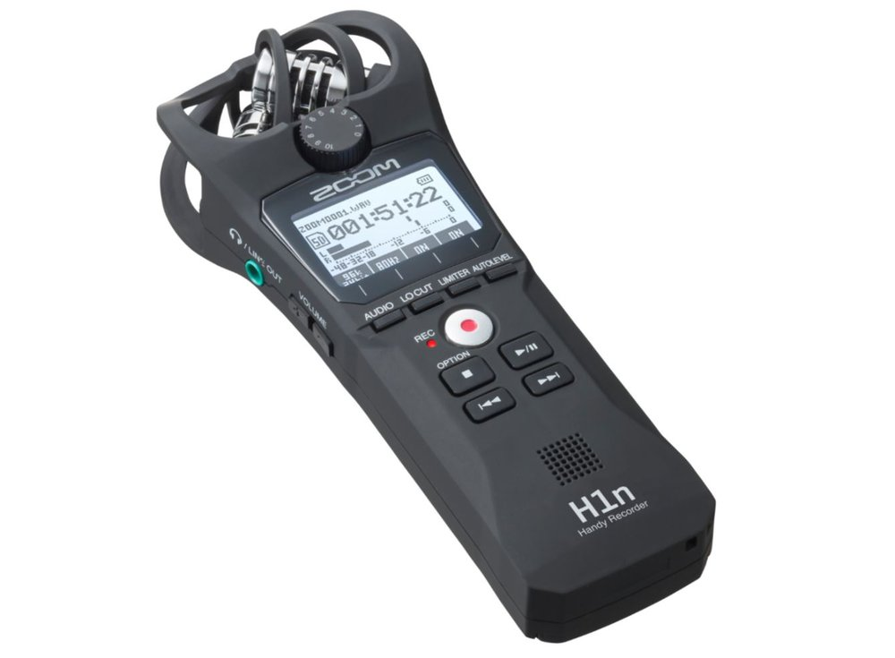 ZOOM H1n Mobile Stereo Recorder
