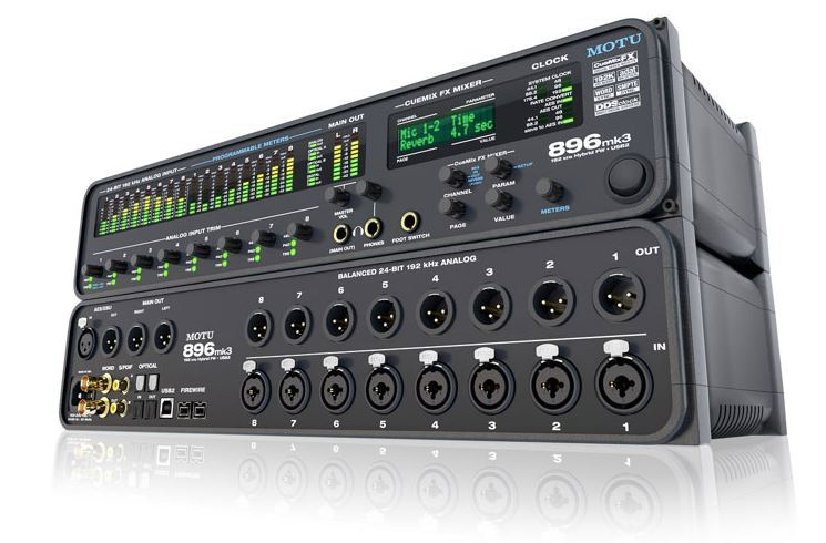 MOTU 896 mk3 Hybrid Audio Interface