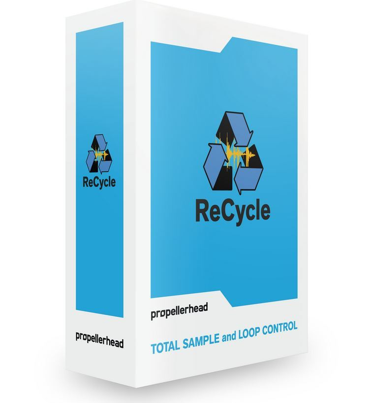 Reason Studios ReCycle 2.2 Sample Beat Editor, eng. Lizenz