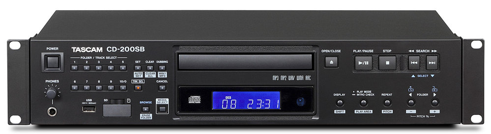 TASCAM CD-200SB CD Player