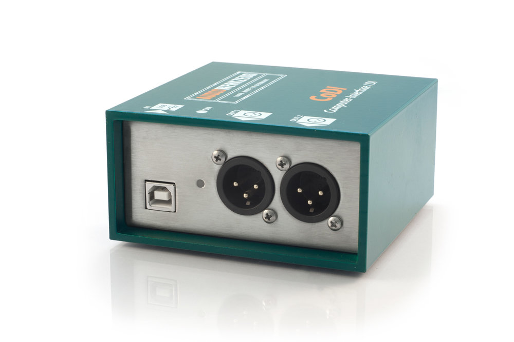 Audiowerkzeuge CoDI - Plug & Play USB Computer-Interface