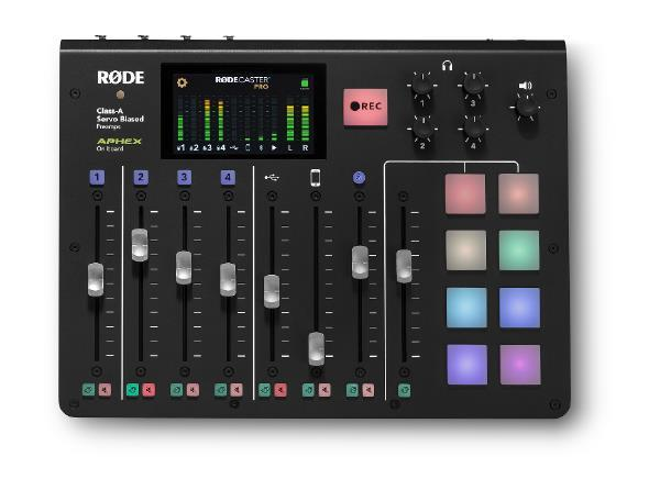 RODE Caster Pro - Podcasts Mixer